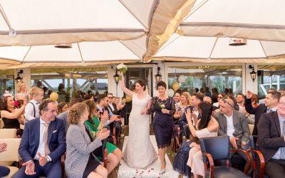 In het huwelijksbootje met David & Laura